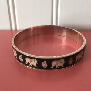 Vera Bradley Pink Elephants Bracelet